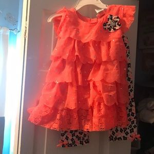 NWT little lass outfit Capri and sleeveless shirt